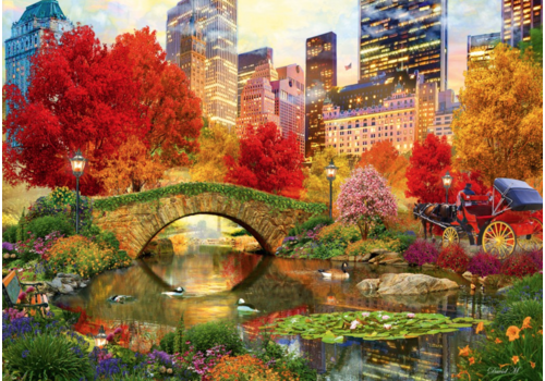 Central Park in New York - 4000 pieces