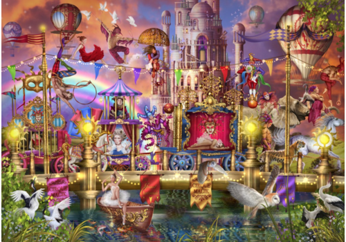 Parade du cirque magique - 6000 pièces
