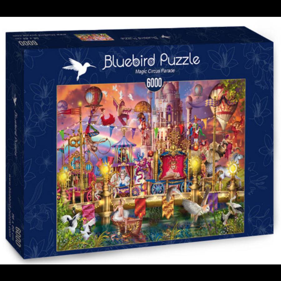 Magic Circus Parade - puzzle of 6000 pieces-2