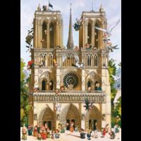 thumb-Vive Notre Dame! - puzzle of 1000 pieces-1