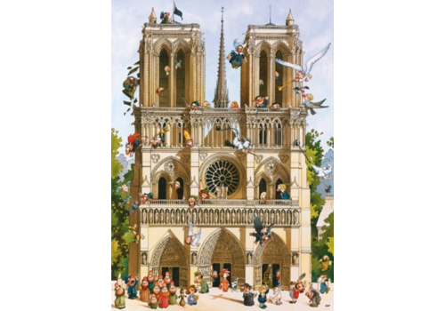 Heye Vive Notre Dame! - 1000 stukjes