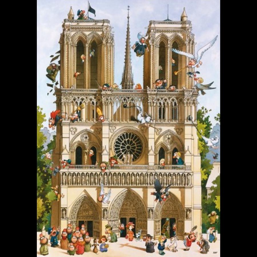 Vive Notre Dame! - puzzle of 1000 pieces-1