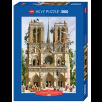 thumb-Vive Notre Dame! - puzzle of 1000 pieces-2