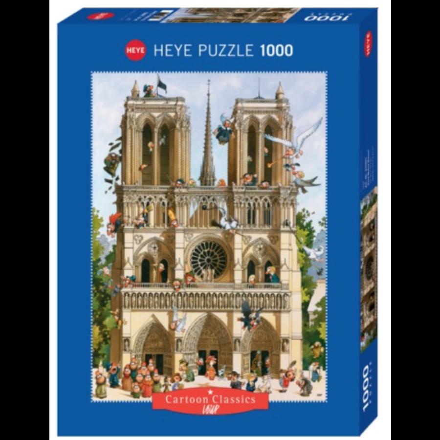 Vive Notre Dame! - puzzle of 1000 pieces-2