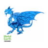 Metal Earth Blue Dragon - Iconx 3D puzzle