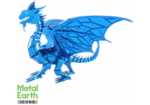 Metal Earth Blue Dragon - Iconx 3D puzzel