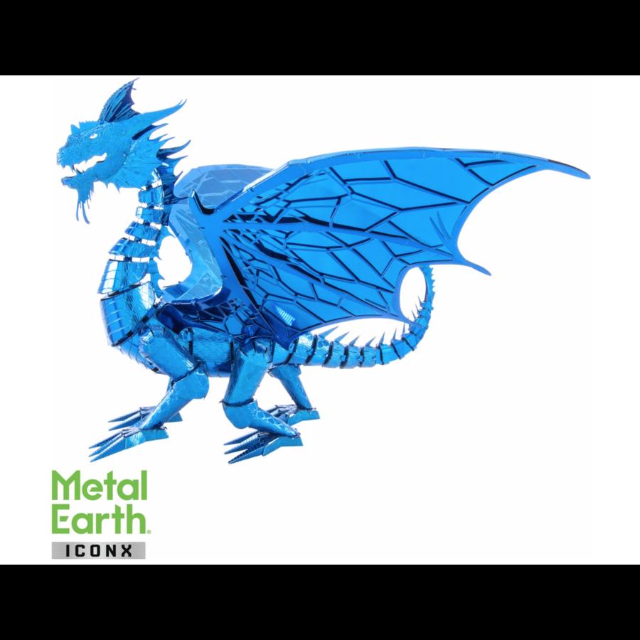Blue Dragon - Iconx 3D puzzle-1