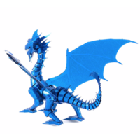 thumb-Blue Dragon - Iconx 3D puzzle-5