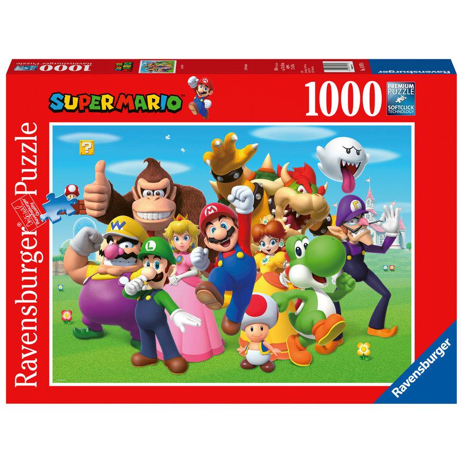 Super Mario - puzzel van  1000 stukjes-1