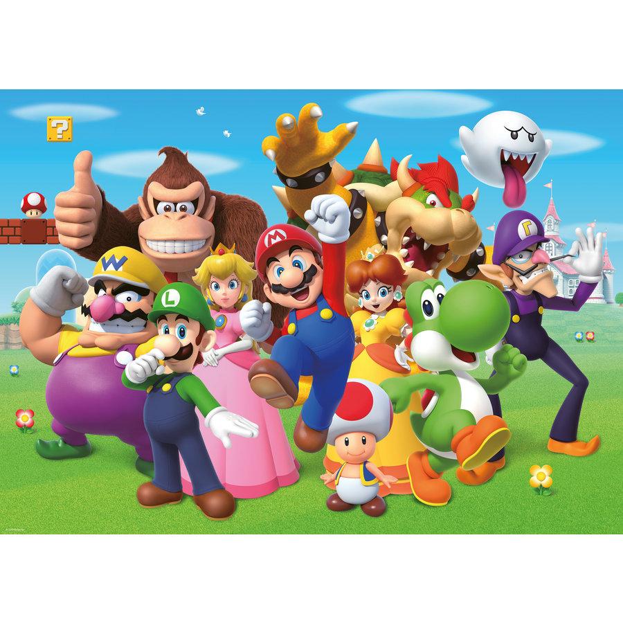 Super Mario - puzzel van  1000 stukjes-2