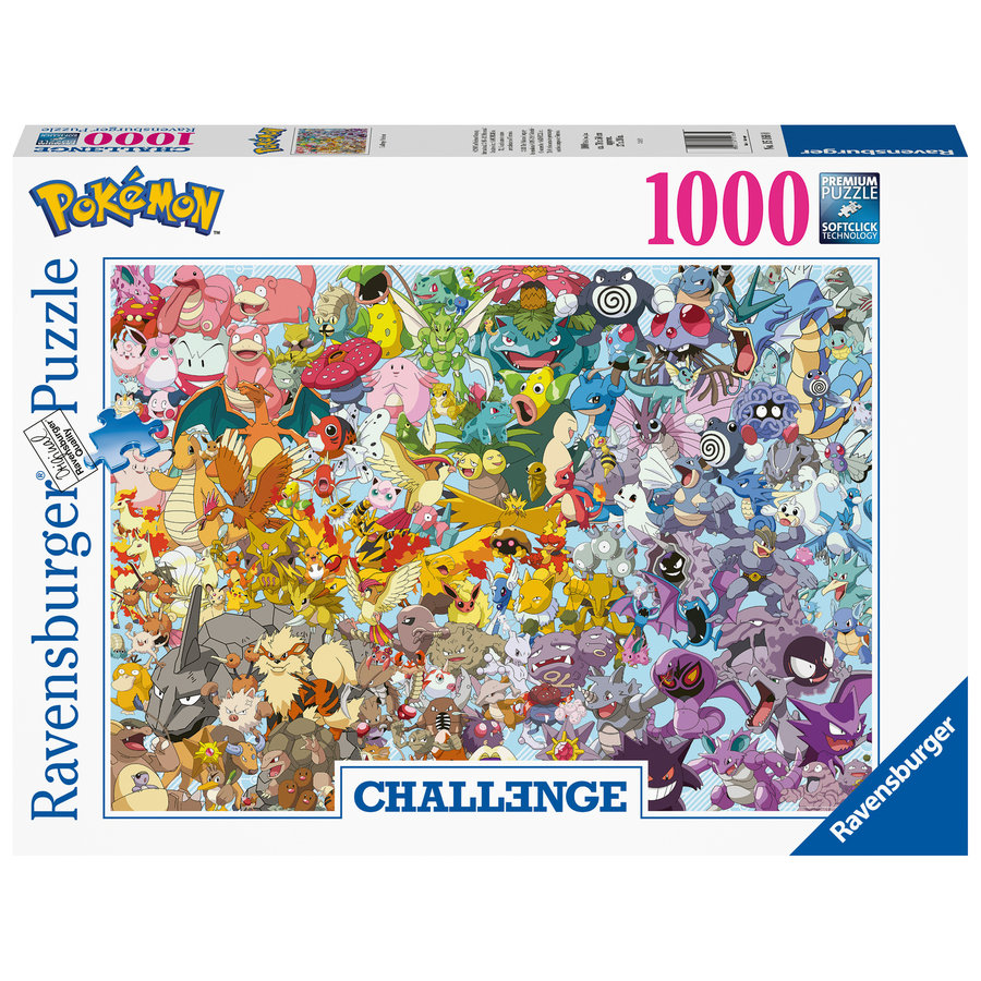 Pokemon - Challenge - puzzel van  1000 stukjes-2