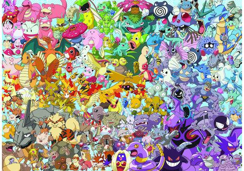 Ravensburger Pokemon - Challenge - 1000 pieces