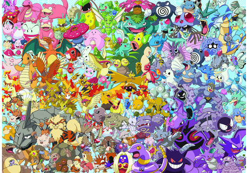 Pokemon - Challenge - 1000 stukjes