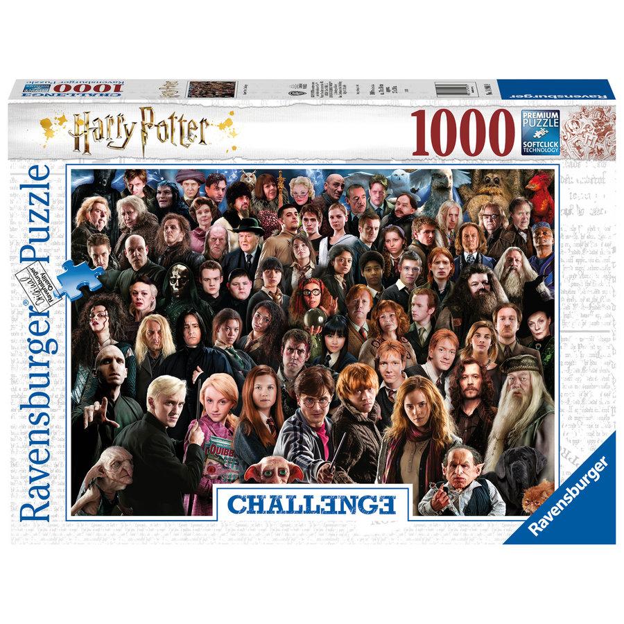 Harry Potter - Challenge -  puzzle de 1000 pièces-2