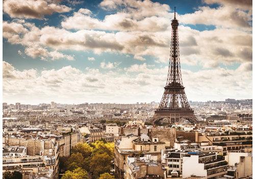 De skyline van Parijs - 1000 stukjes