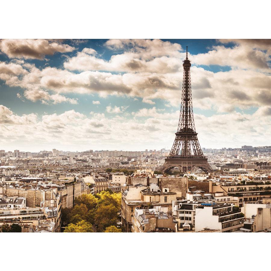 De skyline van Parijs - 1000 stukjes-1