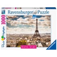 thumb-De skyline van Parijs - 1000 stukjes-2