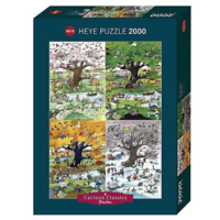 thumb-4 seasons - puzzle of 2000 pieces-2