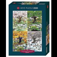 thumb-4 seizoenen - puzzel van 2000 stukjes-2