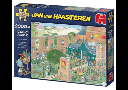 De Kunstmarkt - JvH - 2000 stukjes