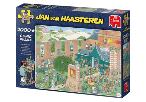 The Art Market - JvH - 2000 pieces