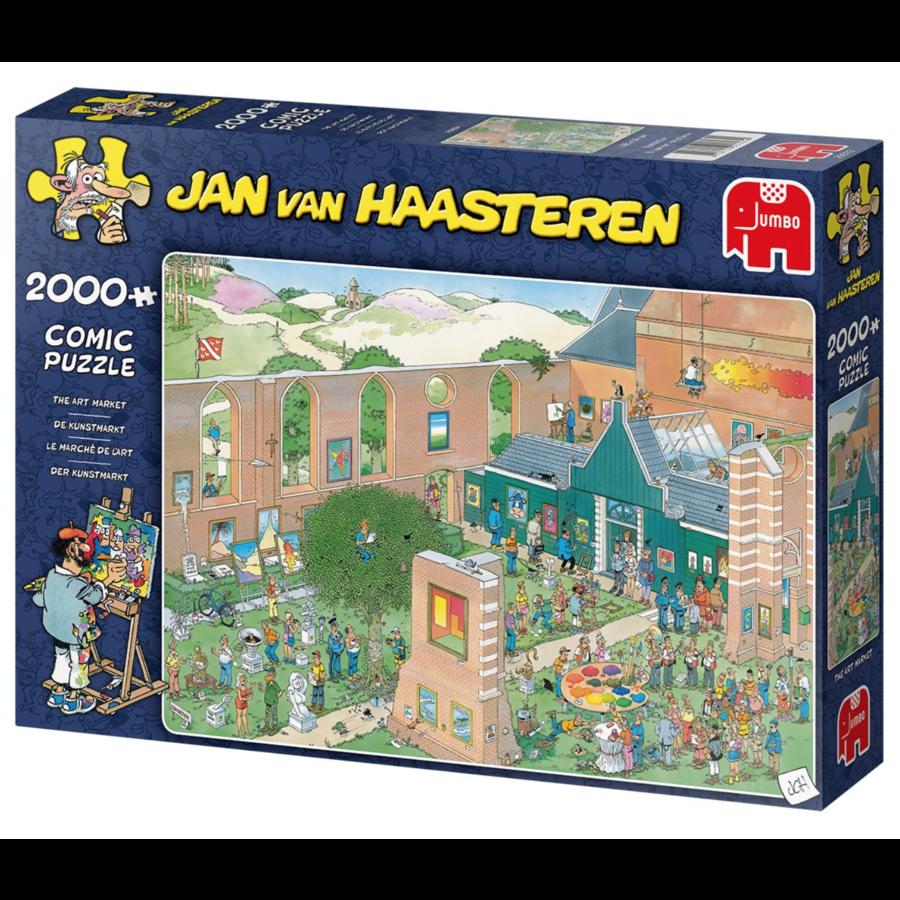 The Art Market - JvH - 2000 pieces-1