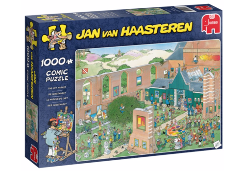The Art Market - JvH - 1000 pieces