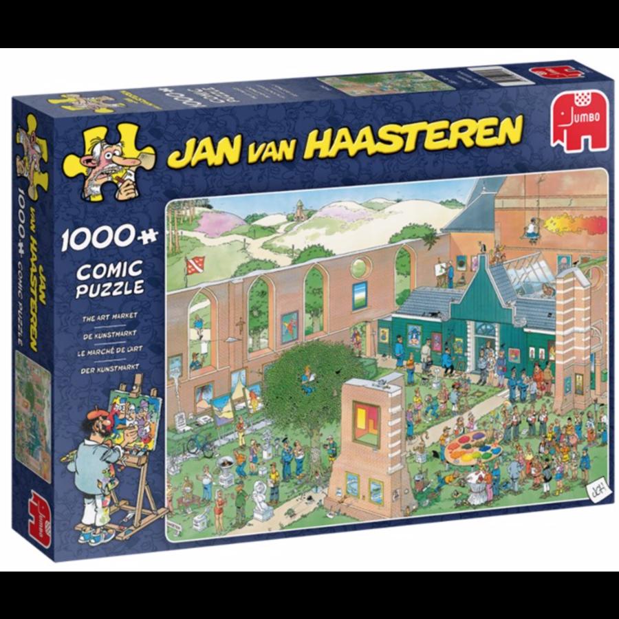 De Kunstmarkt   - JvH - 1000 stukjes-1