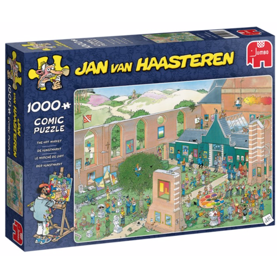 The Art Market    - JvH - 1000 pieces-1