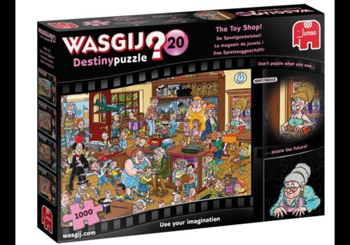 Wasgij Destiny 20 - De Speelgoedwinkel - 1000 stukjes