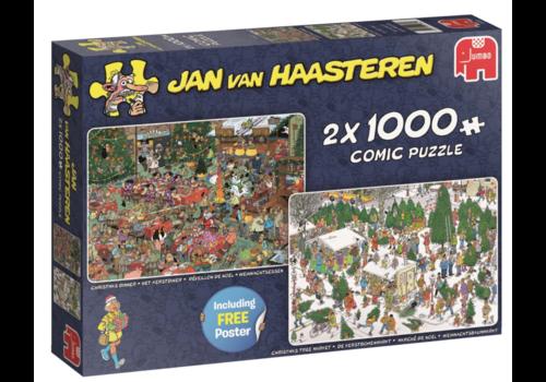 Cadeaux de Noël - JvH - 2x 1000 pièces