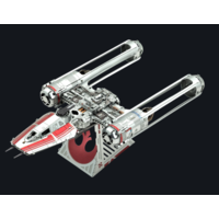 thumb-Star Wars - ZORII'S Y-WING Fighter - 3D puzzel-1