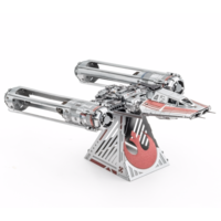 thumb-Star Wars - ZORII'S Y-WING Fighter - 3D puzzel-2
