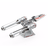 thumb-Star Wars - ZORII'S Y-WING Fighter - 3D puzzel-3