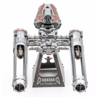 thumb-Star Wars - ZORII'S Y-WING Fighter - 3D puzzel-4