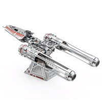 thumb-Star Wars - ZORII'S Y-WING Fighter - 3D puzzel-5