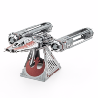 thumb-Star Wars - ZORII'S Y-WING Fighter - 3D puzzel-6