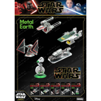 thumb-Star Wars - ZORII'S Y-WING Fighter - 3D puzzel-7