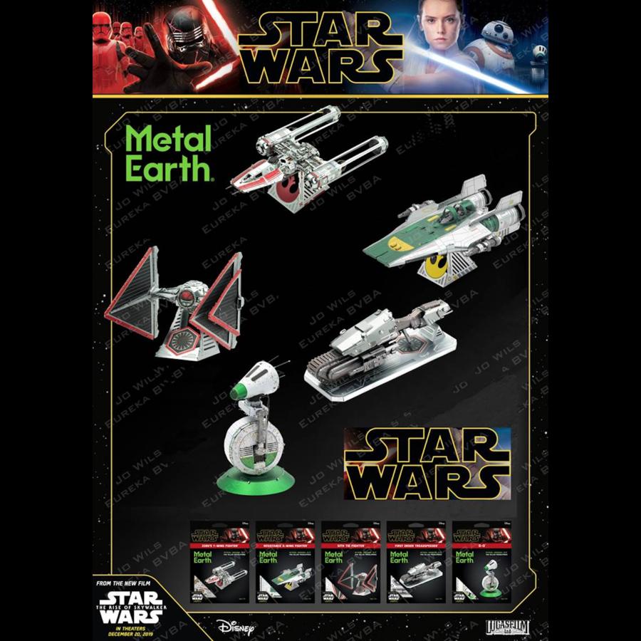 Star Wars - ZORII'S Y-WING Fighter - 3D puzzel-7