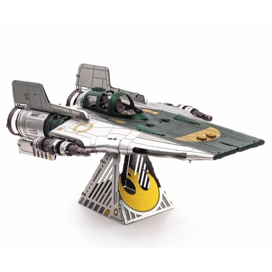 Star Wars - Resistance A-Wing Fighter - 3D puzzel-2