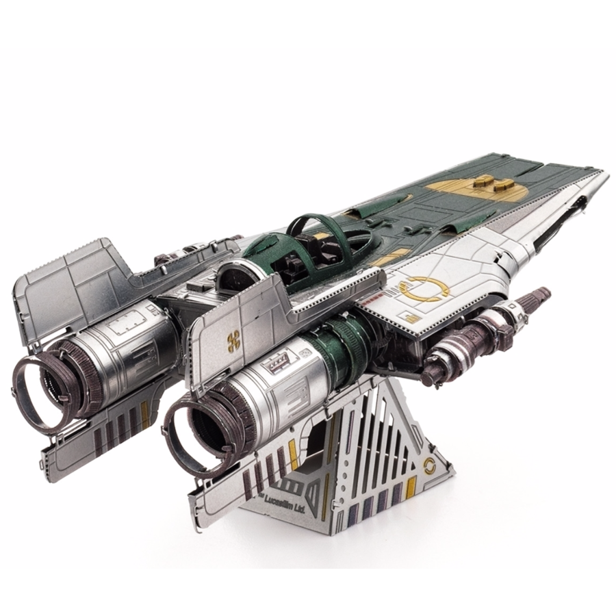 Star Wars - Resistance A-Wing Fighter - 3D puzzel-3