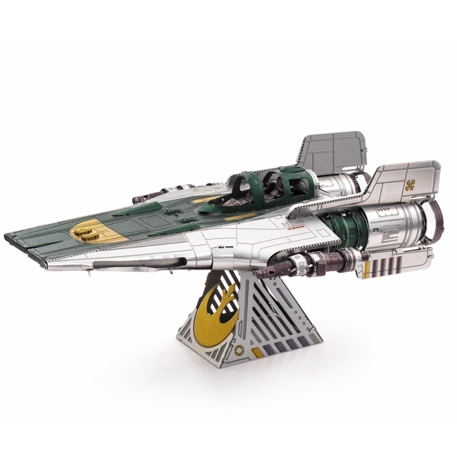 Star Wars - Resistance A-Wing Fighter - 3D puzzel-5