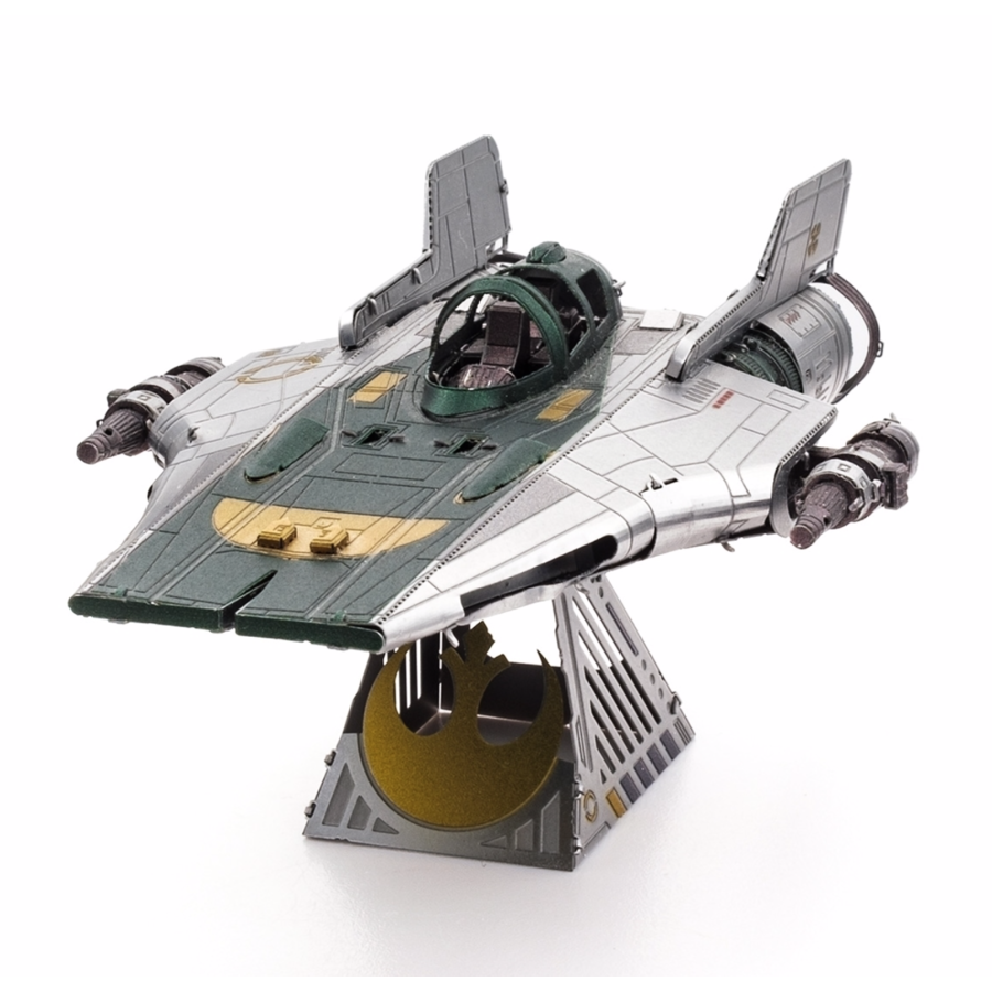 Star Wars - Resistance A-Wing Fighter - 3D puzzel-6