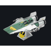 thumb-Star Wars - Resistance A-Wing Fighter - 3D puzzel-1