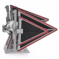 thumb-Star Wars - Sith Tie Fighter - 3D puzzle-3