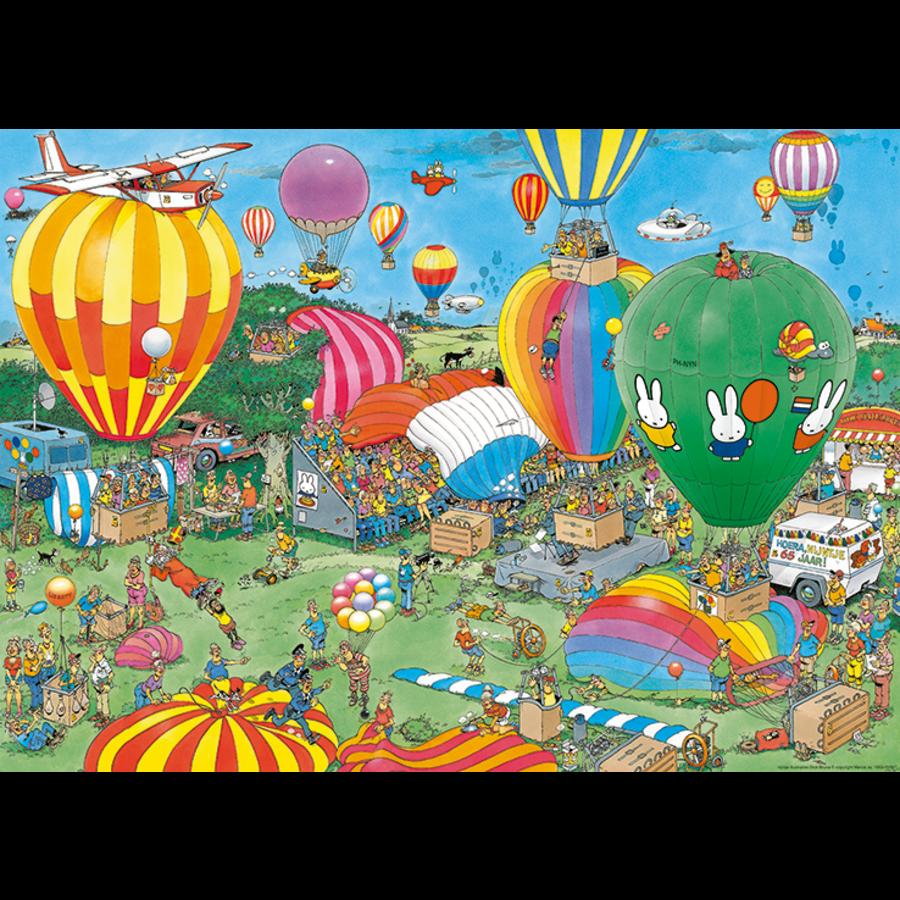 PRE-ORDER - Hooray Miffy 65 years - JvH - 1000 pieces-2
