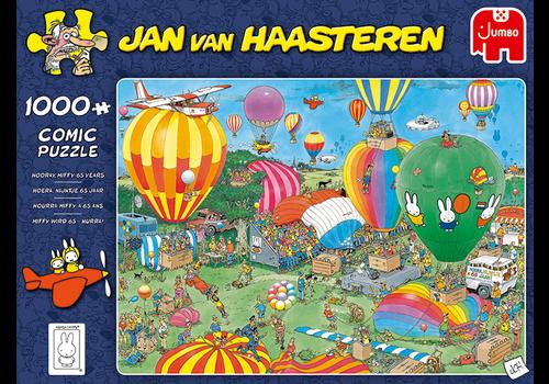 PRE-ORDER - Hooray Miffy 65 years  - JvH - 1000 pieces