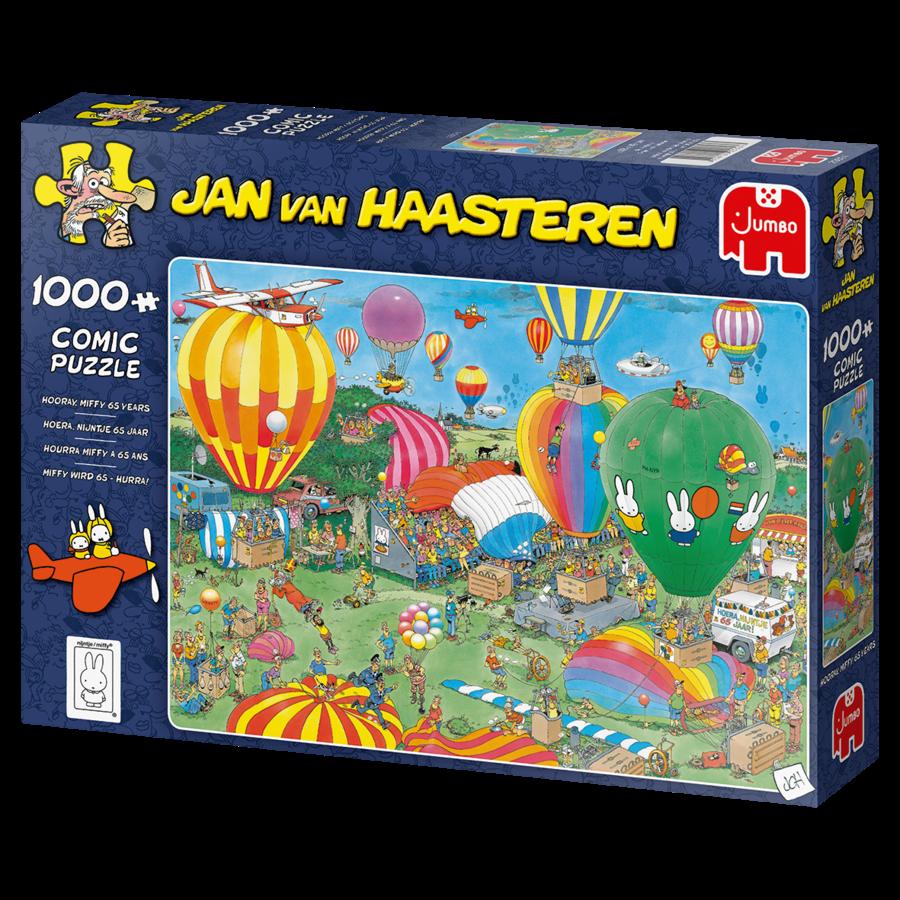 PRE-ORDER - Hooray Miffy 65 years - JvH - 1000 pieces-4
