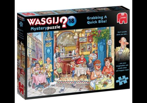Jumbo Wasgij Mystery 18 - Grabbing a Quick Bite! - 1000 pieces