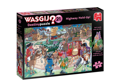 Wasgij Destiny 21 - Highway Hold-up! -  1000 pieces